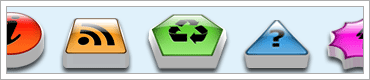 Web 2.0 RSS Icon