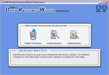 Data Recovery Wizard Professionalのキャプチャ