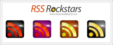 Free Rockstar RSS Vector Iconsのキャプチャ
