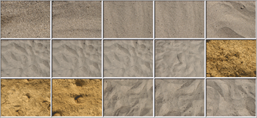 Free Textures: Dry Sandのサンプル