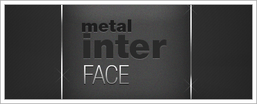 Simple GunMetal Interfaceのクリップ