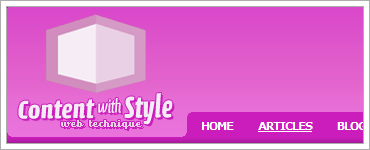 Content with Style A CSS Frameworkのキャプチャ