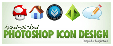 40+ Hand-picked Photoshop Icon Designsのキャプチャ