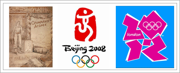 Olympic Poster Design over the last 112 yearsのキャプチャ