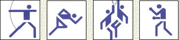 Olympic Games Pictograms 1976 Montrealのキャプチャ