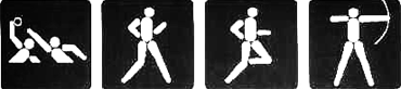 Olympic Games Pictograms 1984 Los Angelesのキャプチャ