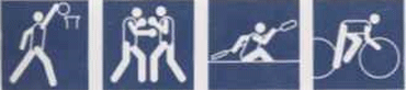 Olympic Games Pictograms 1988 Seoulのキャプチャ