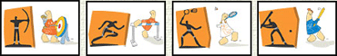 Olympic Games Pictograms 2004 Athensのキャプチャ
