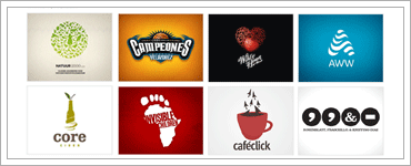 54 Creative Logos Hand-picked From Logopondのキャプチャ