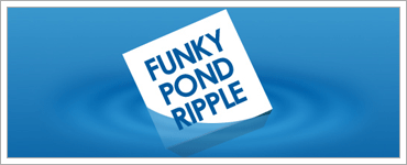 Create a Simple Pond Rippleのキャプチャ