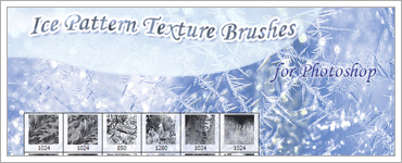Ice Patterns Texture Brushesのキャプチャ