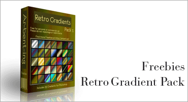 Retro Gradient Packのキャプチャ