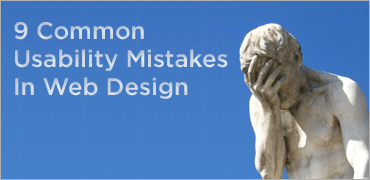 9 Common Usability Mistakes In Web Design